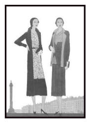 Dresses and jackets - April 1930 - Good Housekeeping Fashion Images 3