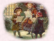 Children singing carols