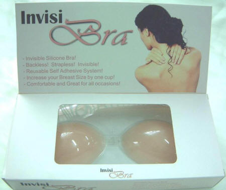 The Self Adhesive Silicon Bra ( Invisi Bra Example Shown)  Manufactured by Armo Plastic Product Co. Ltd in Factories in Guangzhou, China.