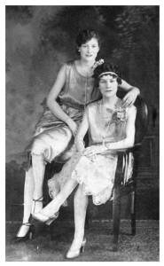 1920s flapper photographs