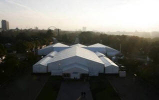 Fashion Tents in Gorky Park