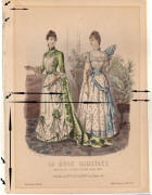 La Mode Illustr�e 1889 - Antique Evidence.