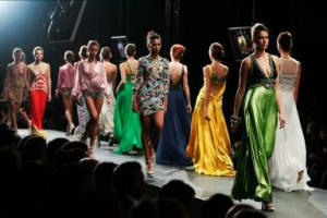 Jenny Packham Catwalk Show at Russian Fashion Week