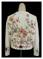 Chinoiserie influenced vintage knits of the fifties by Helen Bond Carruthers