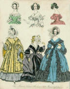 Fashion Plate - The World of Fashion issued in March 1839
