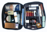 Make up bag contents for weekend.
