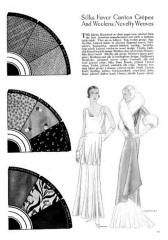 Evening wear - October 1930 - Good Housekeeping Fashion Images 4