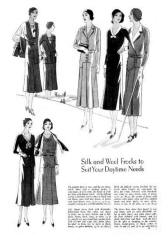 Dresses - October 1930 - Good Housekeeping Fashion Images 4
