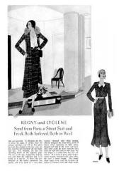 Tweeds - October 1930 - Good Housekeeping Fashion Images 4