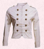 White jacket at �12 from Primark.