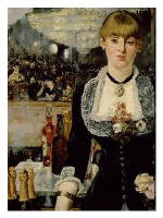 Manet's painting, 'Bar at the Folies Bergere'