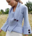 Constance Eyre designer merino wool knitted Fairfax Sweater