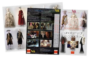 The video sleeve and cover of 'anatomy of a collection' by Artsview and analysing 400 years of costume at the V&A.