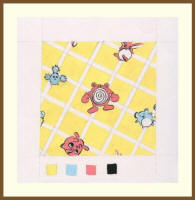 Fashion Gallery 19 - Textile Prints by Vaishali Gandhi of India - Nursery print.