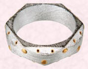 Cuff �8 from the Medieval Freedom range at Topshop.
