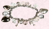 Accessorize Heart Cluster Bracelet - �10/�14.90 for Autumn Winter 2007 - Magpie.