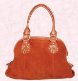 Autumn Winter 2007 - Nova - Suede and stud tote - �40/�62 from Accessorize.