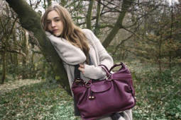 Billy Bag in purple style Holly bag £255.
