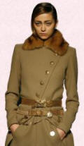 Gaultier Coat - Military Camel Coat - 2007 Fashion History.