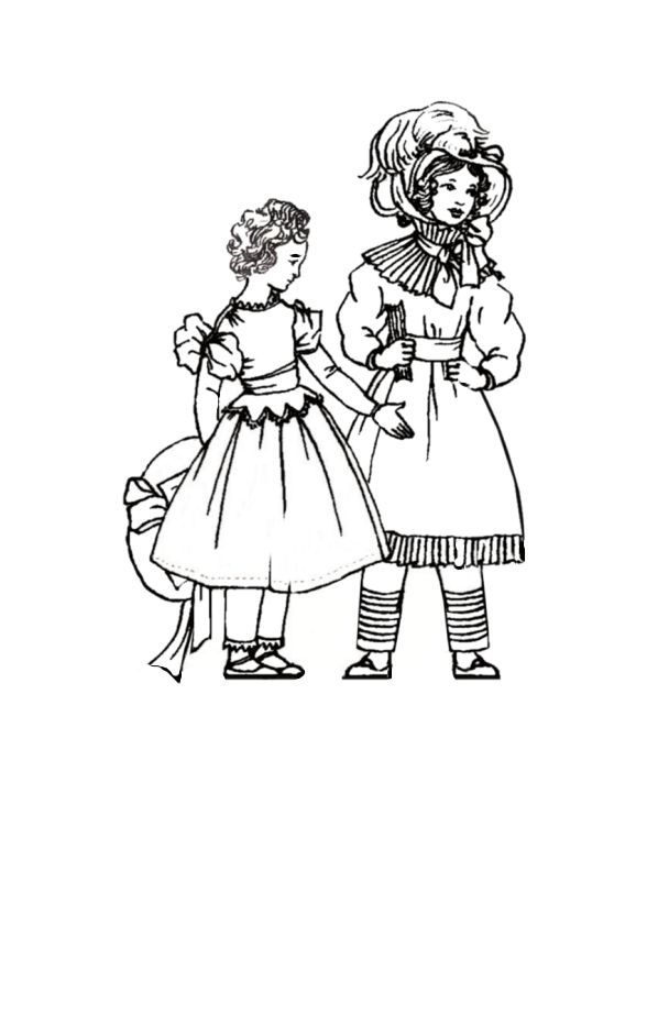 children in costume history 1830 to 1840 romantic childrens fashions 1990s Dresses 1830 girls in fashionable dresses