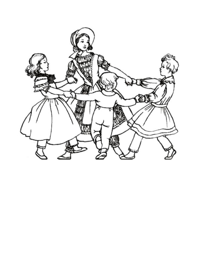 Victoria Era Free Coloring Pages