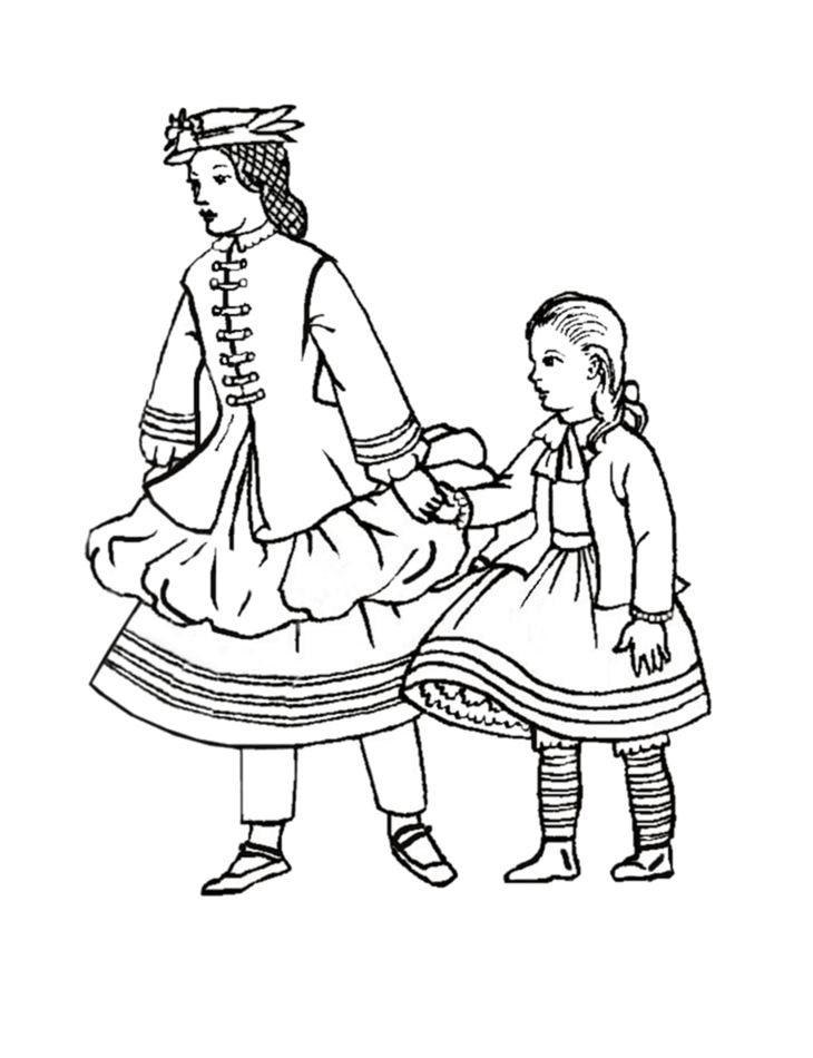 Children in Costume History 1860-70 - Victorian Fashions for Girls