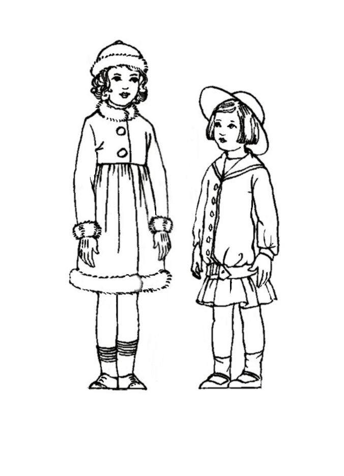 coloring pages 1920s - photo#9