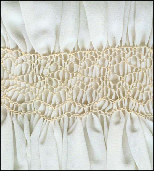 Smocking Sample Pictures And Stitch Methods Page 2