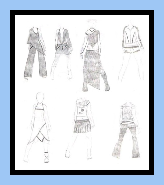 Fashion Design Sketches Tutorial Working fashion designing