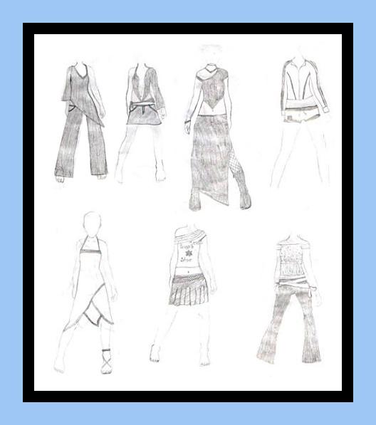 Fashion Design Sketches Tutorial Working fashion designing