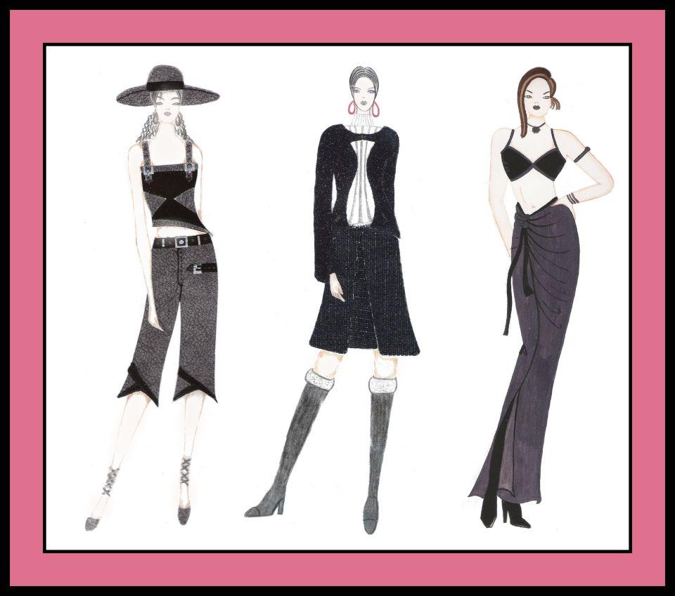 Free Fashion Portfolio Templates