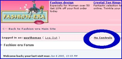 Fashion-era.com forum screenshot
