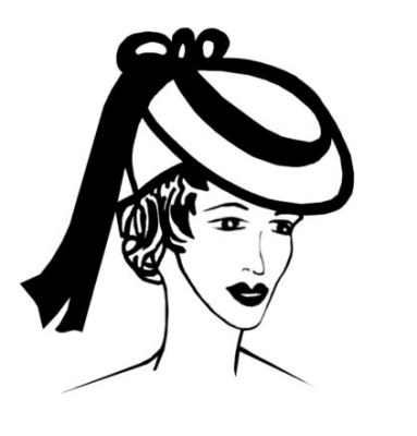 1930s Hat Fashion History. Hairstyle Pictures Pert Hats Snood ... 5c92bd00bd1