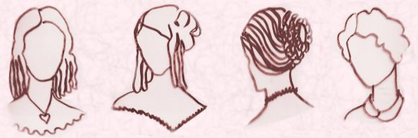 Fine Early Victorian Hairstyles And Hats 1840 70 Hairstyles For Women Draintrainus