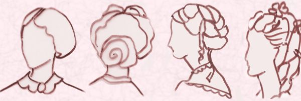 Miraculous Early Victorian Hairstyles And Hats 1840 70 Short Hairstyles Gunalazisus