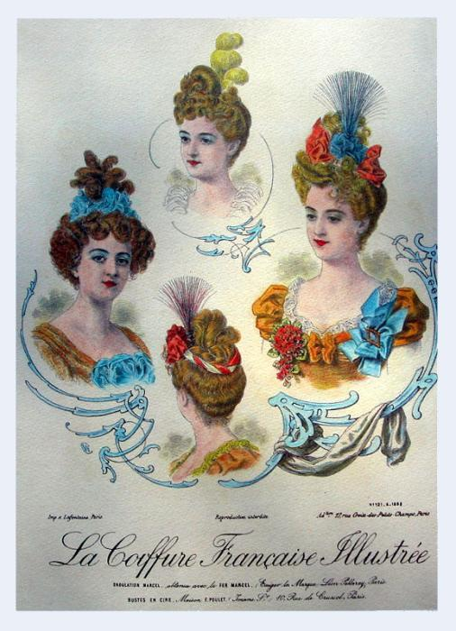 hairstyle history. Hairstyles in Fashion History