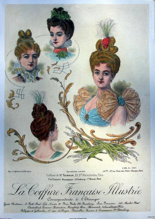 Pictures of Edwardian Hairstyles