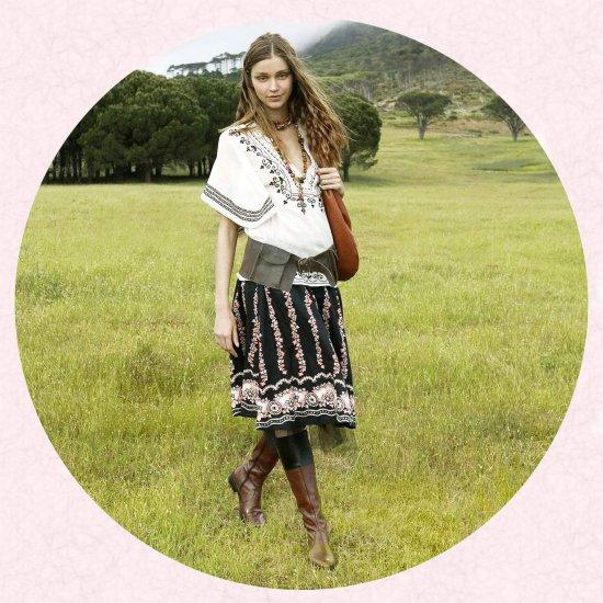 Eastern european dress style