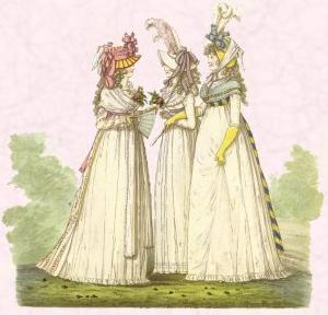Costume History - Dresses of the 1790s - Gallery of Fashion