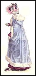FahsionHistory - 1821 Mantle Cloak - Witzchoura