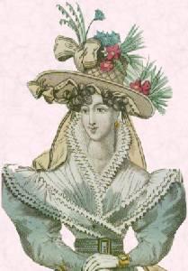 3db3ad8fb337 Romantic Era, Fashion and Costume 1825-1835 - Fashion History ...