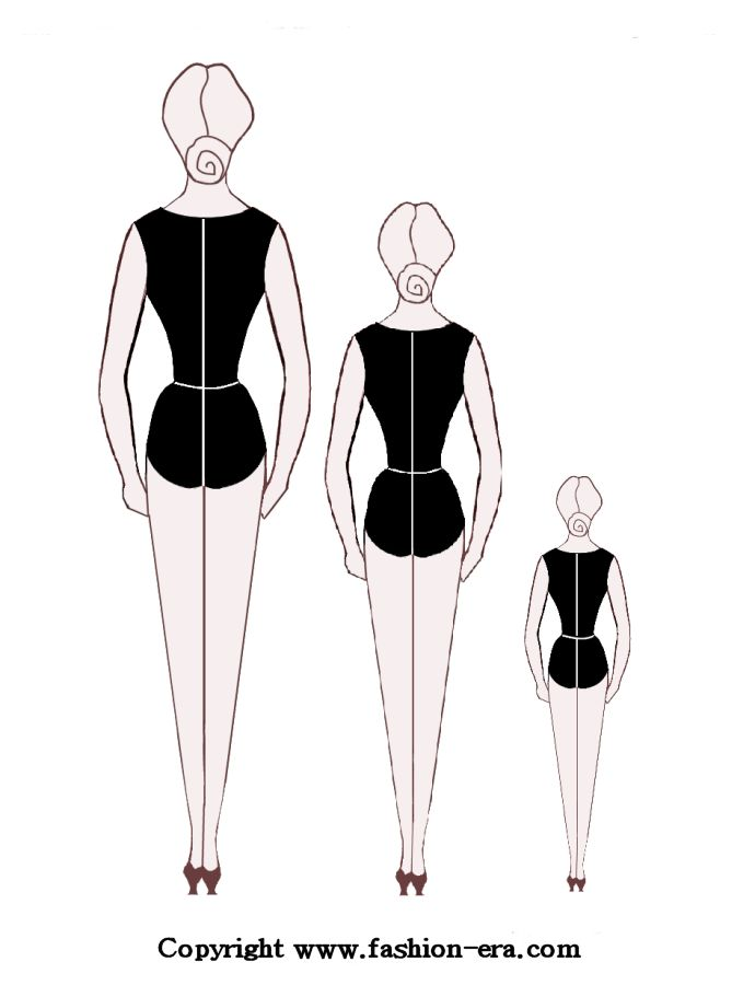fashion sketch body image search results