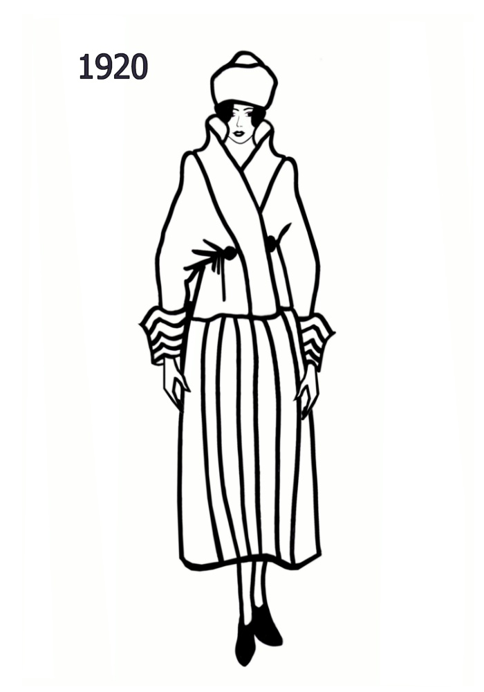Line Art Fashion : Costume history silhouettes  free line drawings