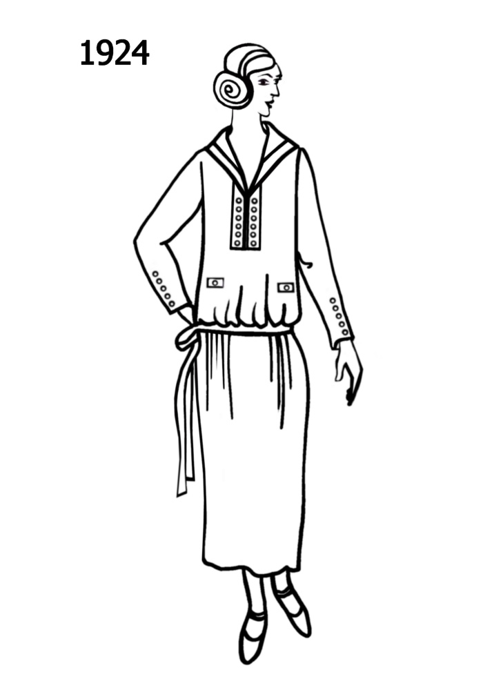 Line Drawing Uk : Costume history silhouettes  free line drawings