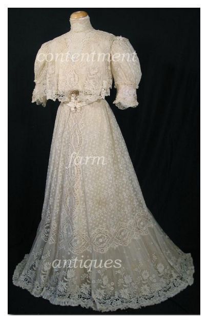 Vintage Clothes 15 – Collecting Vintage Lace Goods – Fashion History ... 476589518