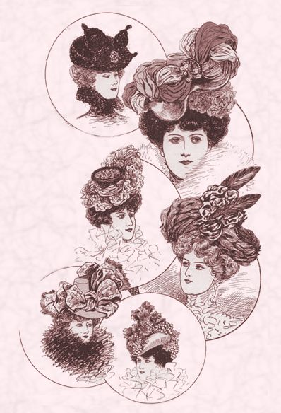early 1900s fashion hats - photo #27
