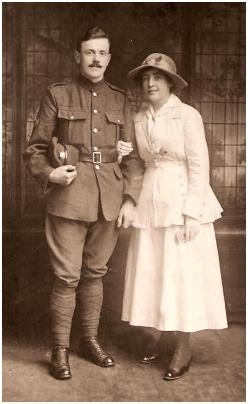 Great War Wedding Photo