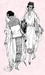1920 Wedding sketches