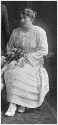 Grace Perry - 1920 Bridesmaid - Maid of Honour.