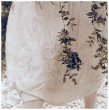 The 1925 Wedding Dress Embroidery
